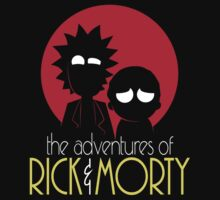 Rick and Morty Adventures A Hundred Years shirt phone ipad case pillow hoodie Kids Clothes