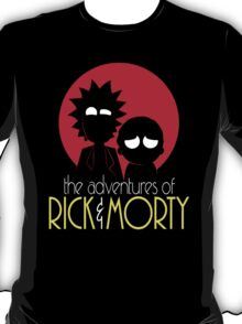 Rick and Morty Adventures A Hundred Years shirt phone ipad case pillow hoodie T-Shirt