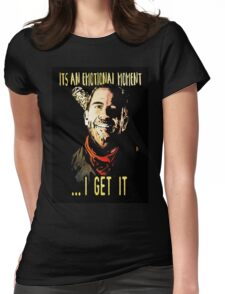 negan Womens Fitted T-Shirt