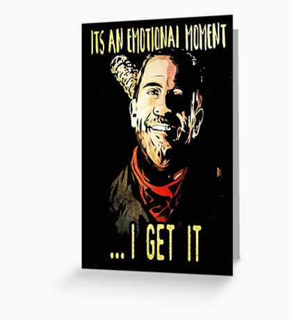negan Greeting Card