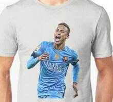 neymar barcelona blue Unisex T-Shirt