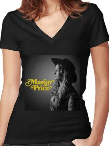 Margo Price Tour Women's Fitted V-Neck T-Shirt