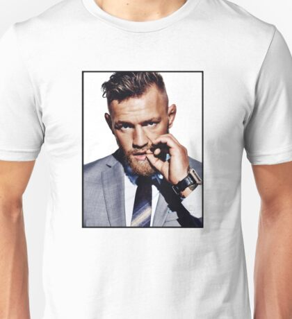 McGregor in Suit Unisex T-Shirt