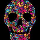Day of the Dead - Psychedelic Skull 01 by Andrei Verner