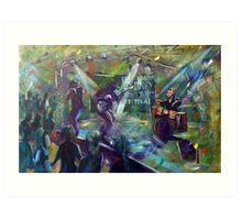 Sydney Blues and Roots - 'Urban Chiefs' -  Art Print