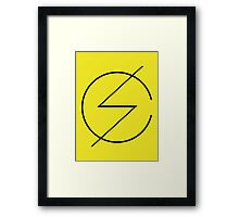 Scandal Band New Yellow Framed Print