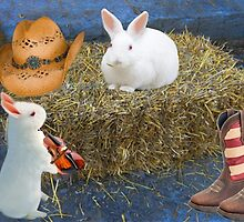 ☀ ツ RABBITS HAVING FUN IN THE HAY HEA ☀ ツ by ✿✿ Bonita ✿✿ ђєℓℓσ
