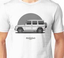 Mercedes-AMG G 63 (W463) (white) Unisex T-Shirt