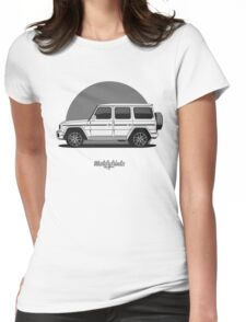 Mercedes-AMG G 63 (W463) (white) Womens Fitted T-Shirt