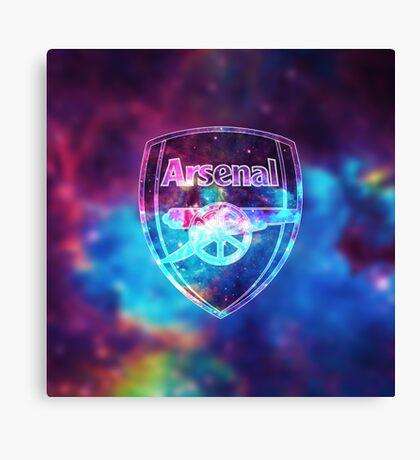 Arsenal Galaxy Canvas Print