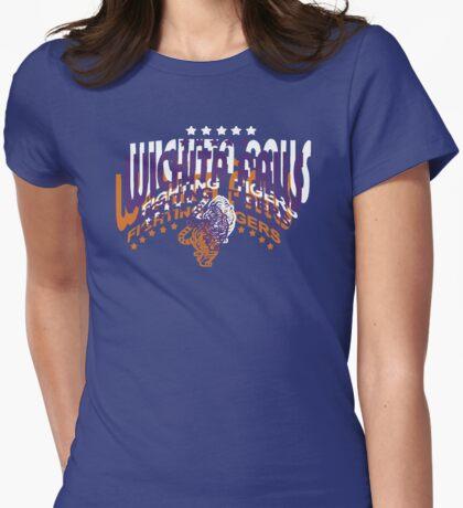 Rose Tyler's Wichita Falls Fighting Tigers Shirt Womens Fitted T-Shirt