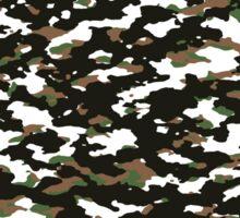 Camouflage: Alpine II Sticker
