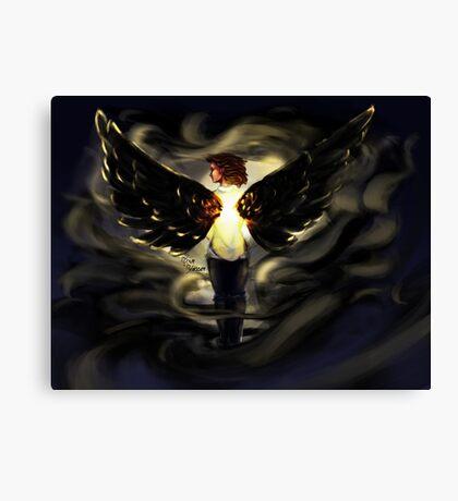 Clara Face the Raven  Canvas Print