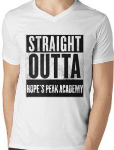 straight outta hope's peak academy Mens V-Neck T-Shirt