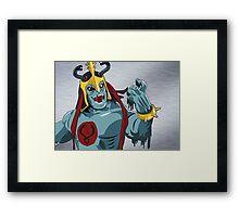 Mumm-Ra Melt Framed Print