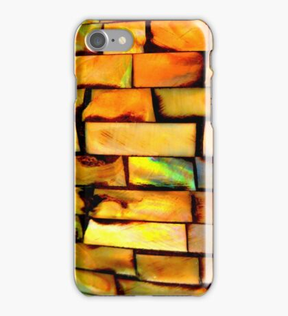 colourful shell design iPhone Case/Skin