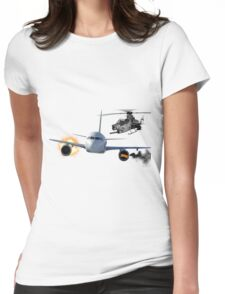 epic air fight Womens Fitted T-Shirt