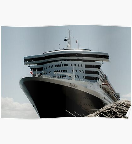 QUEEN MARY 2 OUTER HARBOUR Poster