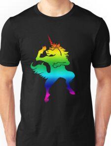 Cool dancing unicorn Unisex T-Shirt