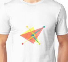 Double Arrow Slanted Square Unisex T-Shirt