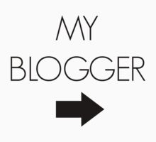 """""""My Blogger"""" - Black by JoMoriarty"""