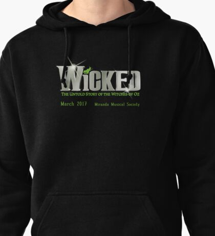 Wicked Silver T-Shirt Miranda Pullover Hoodie