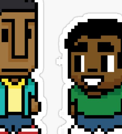 Troy and Abed Sticker