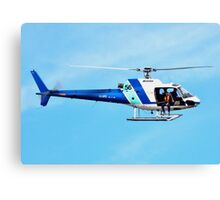 HELICOPTER -PORT ADELAIDE  Canvas Print