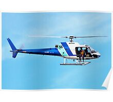 HELICOPTER -PORT ADELAIDE  Poster
