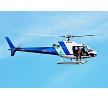 HELICOPTER -PORT ADELAIDE  Photographic Print