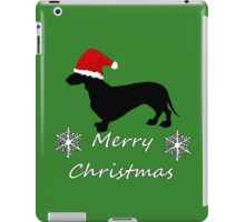 Christmas Dachshund iPad Case/Skin