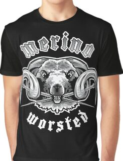 Heavy Metal Knitting - Merino - Worsted Graphic T-Shirt