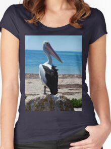 Pelican, The Hungry Games. Women's Fitted Scoop T-Shirt