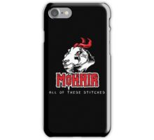 Heavy Metal Knitting - MoHair - All these stitches iPhone Case/Skin
