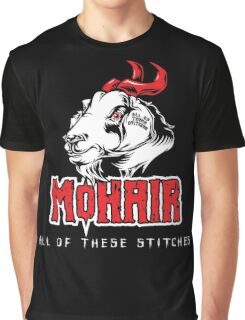 Heavy Metal Knitting - MoHair - All these stitches Graphic T-Shirt