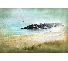 Quietude in Turquoise Photographic Print