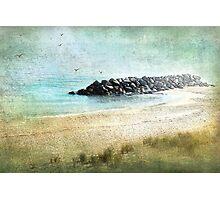 Quietude in Turquoise Photographic Print
