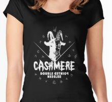 Heavy Metal Knitting - Cashmere - Double Pointed Needles Women's Fitted Scoop T-Shirt