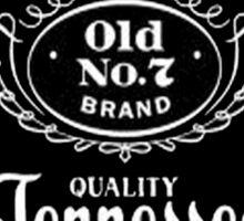 jack daniels black logo Sticker