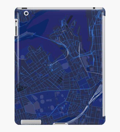 Sydney Inner West Map in Blue iPad Case/Skin