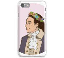John Laurens Flower Crown iPhone Case/Skin