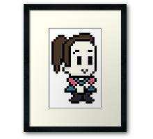 Community Annie 8 bit Framed Print