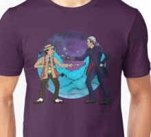 Of Spoons and Scotsmen #4 (Characters and Round Background) Unisex T-Shirt