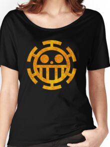 °MANGA° Trafalgar Law Rust Logo Women's Relaxed Fit T-Shirt