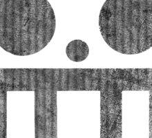 °MANGA° Trafalgar Law B&W Logo Sticker