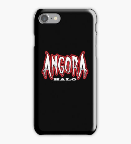 Heavy Metal Knitting - Angora - Halo iPhone Case/Skin
