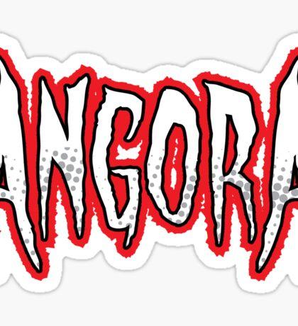 Heavy Metal Knitting - Angora - Halo Sticker