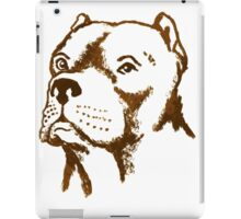 American Pit Bull Terrier Dog Breed puppy pet iPad Case/Skin