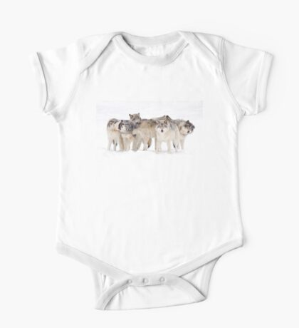 Dysfunctional Family - Timber Wolf One Piece - Short Sleeve