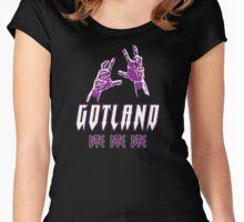 Heavy Metal Knitting - Gotland - DYE DYE DYE Women's Fitted Scoop T-Shirt